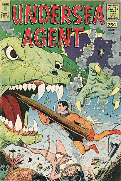 Classic Comic Covers - Page 3 Undersea